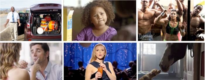 A sampling of some of this year's ads.